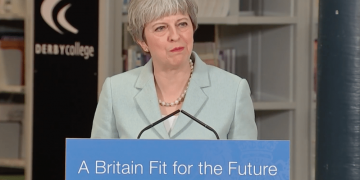 Theresa May tuition fees speech