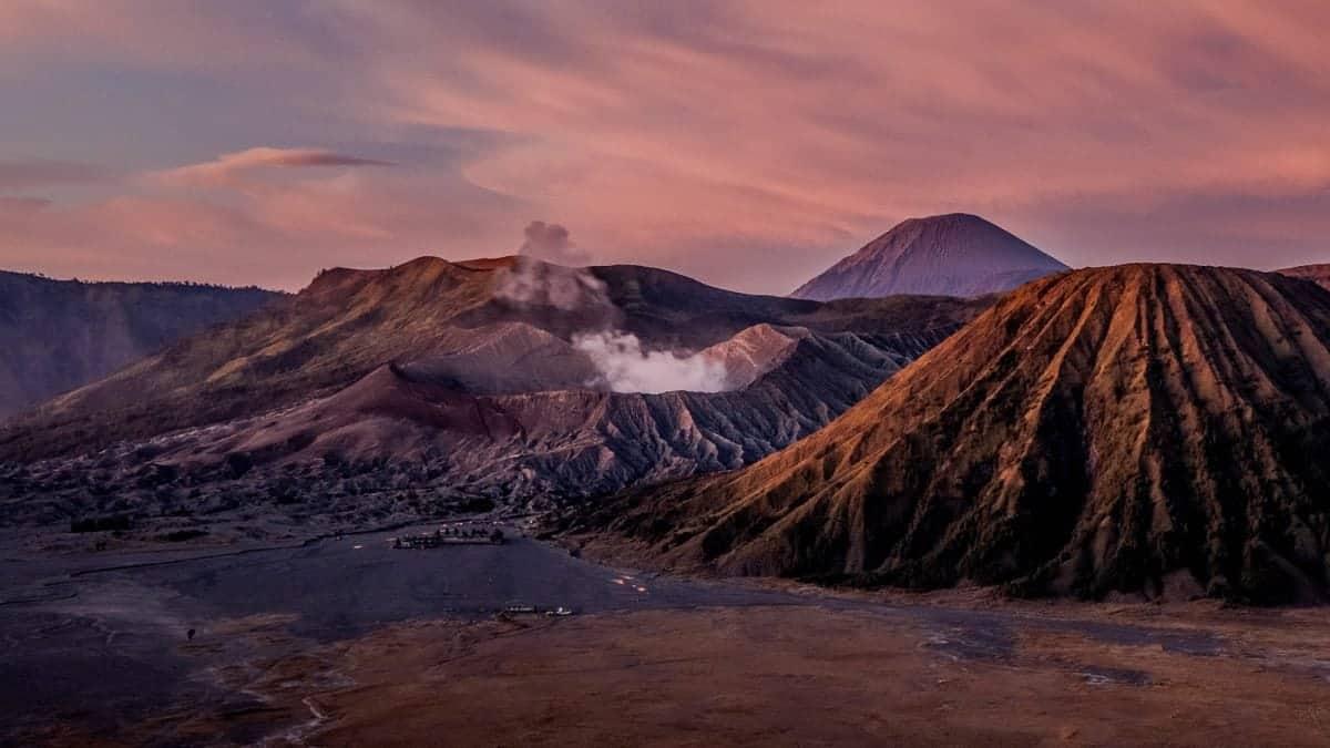 Sunrise at Mount Bromo, Indonesia.