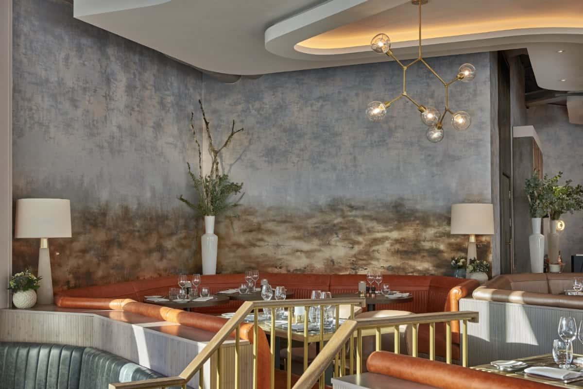 Aster restaurant interior