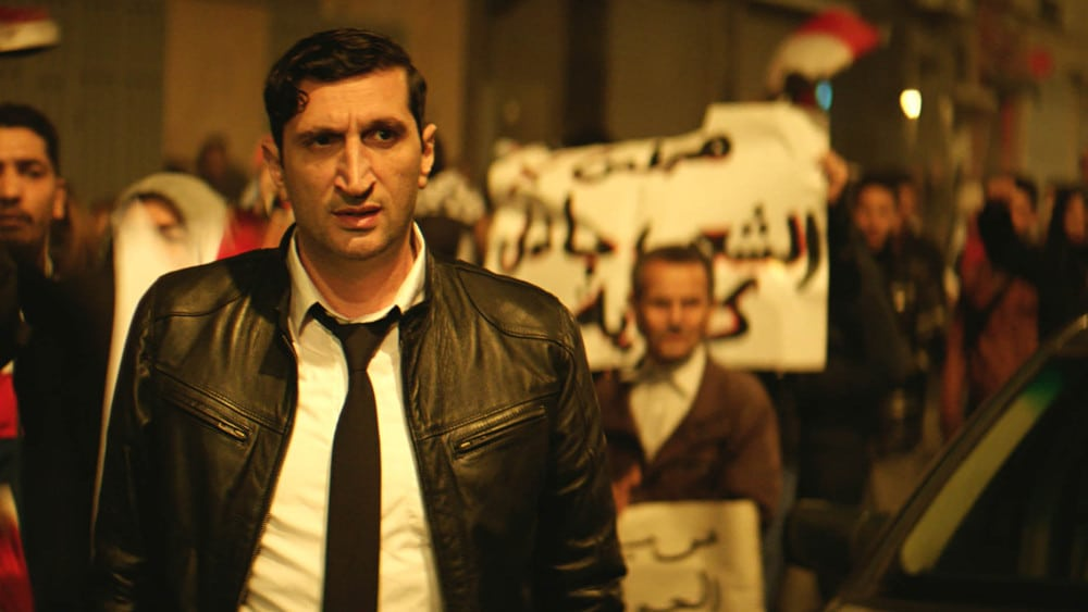 Fares Fares appears in The Nile Hilton Incident by Tarik Saleh, an official selection of the World Cinema Dramatic Competition at the 2017 Sundance Film Festival. Courtesy of Sundance Institute.