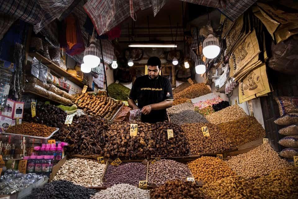 Jade Sarkhel, Market in Marrakesh