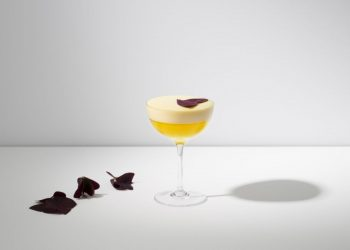 The Rum Runner Yellow Fairy Cocktail