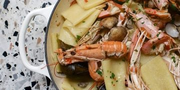 Pastaio Seafood Sharing Pasta