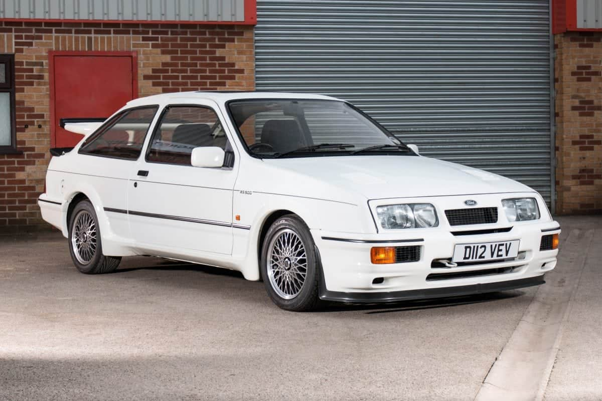 "A 30-year-old car described as ""the holy grail of Fast Fords"" is expected to sell for a staggering £120,000. The Ford Sierra RS500 Cosworth is regarded as one of the most iconic cars of the 1980s."