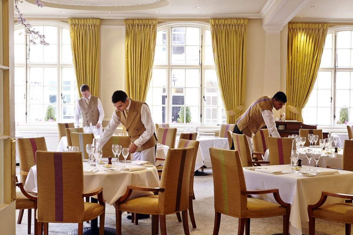 Restaurant Review The Dining Room At The Goring