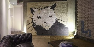 Rat Bar Banksy 'Giant Rat'   Photo: Matt Chung / Shout About London