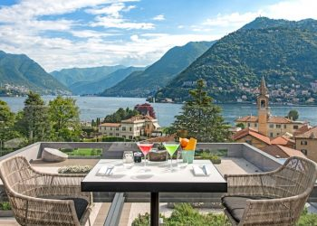 Terrace at Hilton Lake Como