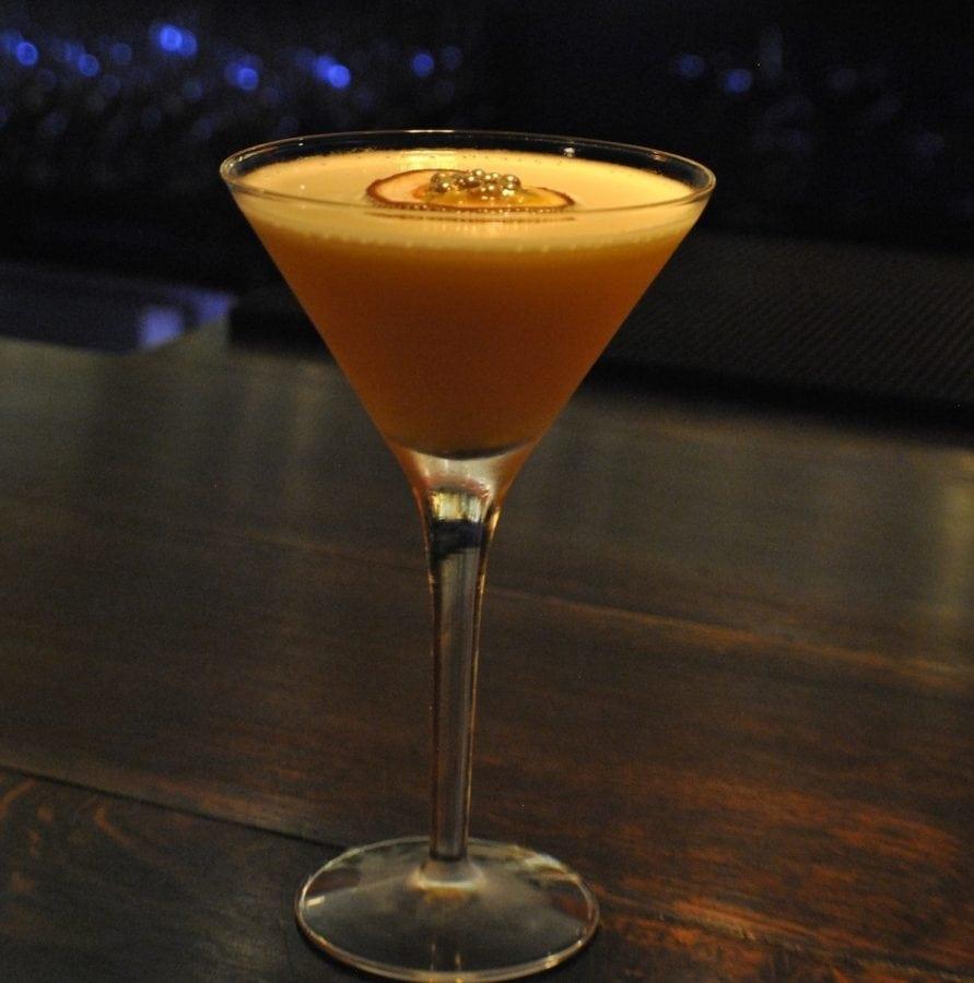 Benares Passion Fruit Martini