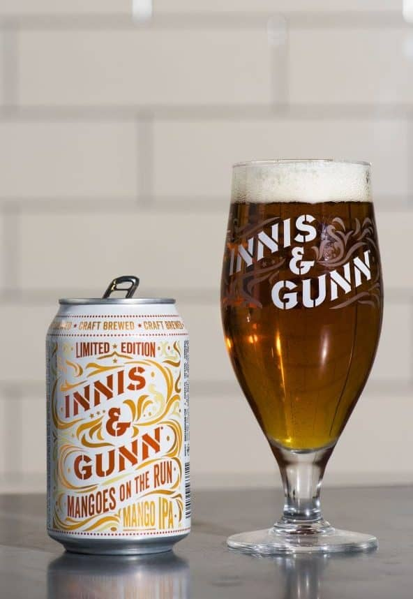 Photo: Alan Richardson Dundee, Pix-AR.co.uk Innis & Gunn Mangoes on the Run IPA