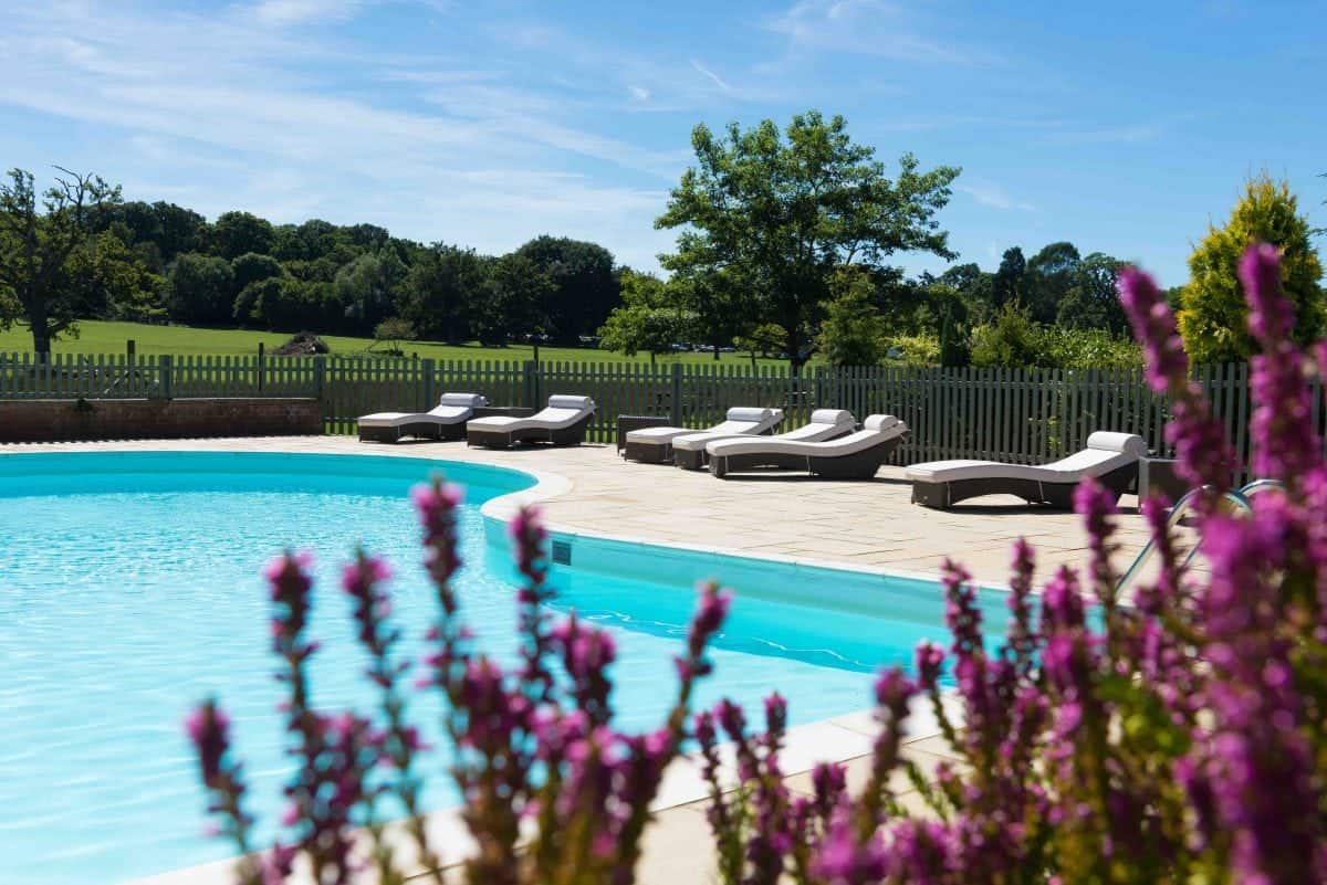 Pool at Burley Manor