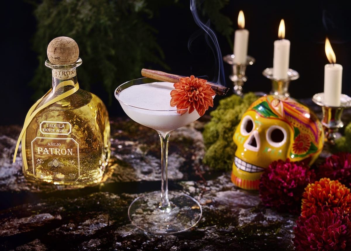 Patrón Añejo Catrina Day of the Dead cocktail