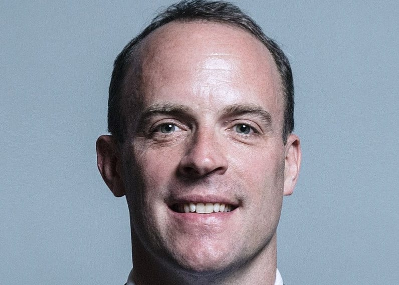 Dominic Raab - UK Parliament official portraits 2017