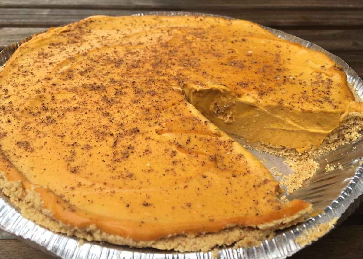 Rudy's Dirty Vegan Diner Vegan Pumpkin Pie