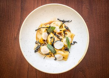 The Ninth Hare Agnolotti | Photographer: Paul Winch-Furness