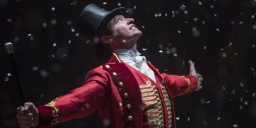"Hugh Jackman stars in Twentieth Century Fox's ""The Greatest Showman."""