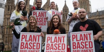 Veganuary goes to Parliament