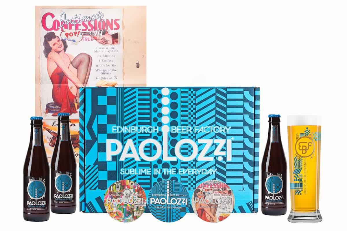 Edinburgh Beer Factory Paolozzi Lager - Bottle Giftbox V2 £15.00