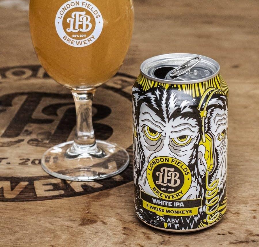 London Fields Brewery 3 Weiss Monkeys