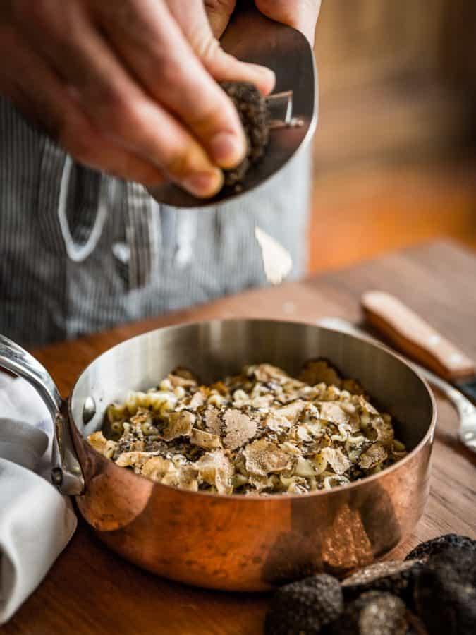 London's best Restaurants reopening 17th May indoor dining  Gloria's 'La vera pasta al tartufo' | Photo: Joakim Blockstrom
