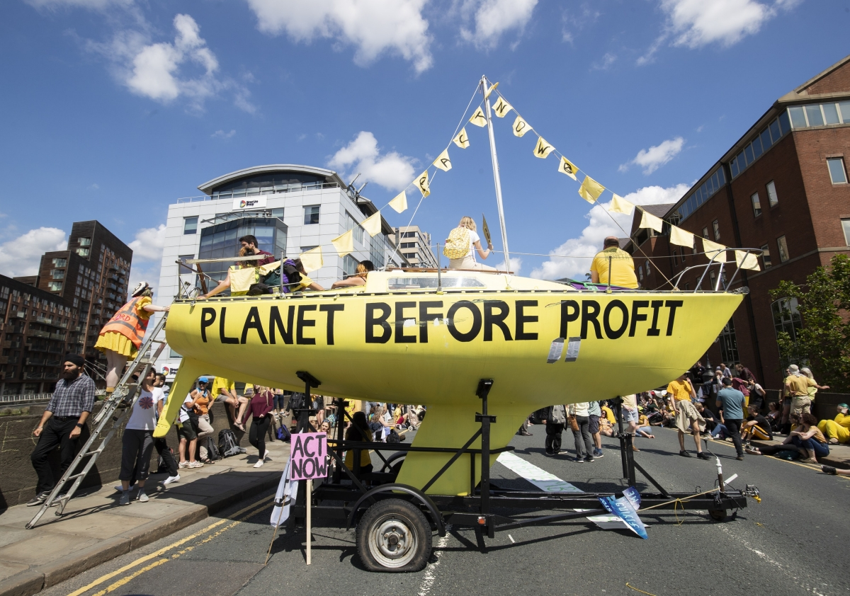 Extinction Rebellion protesters launch summer uprising