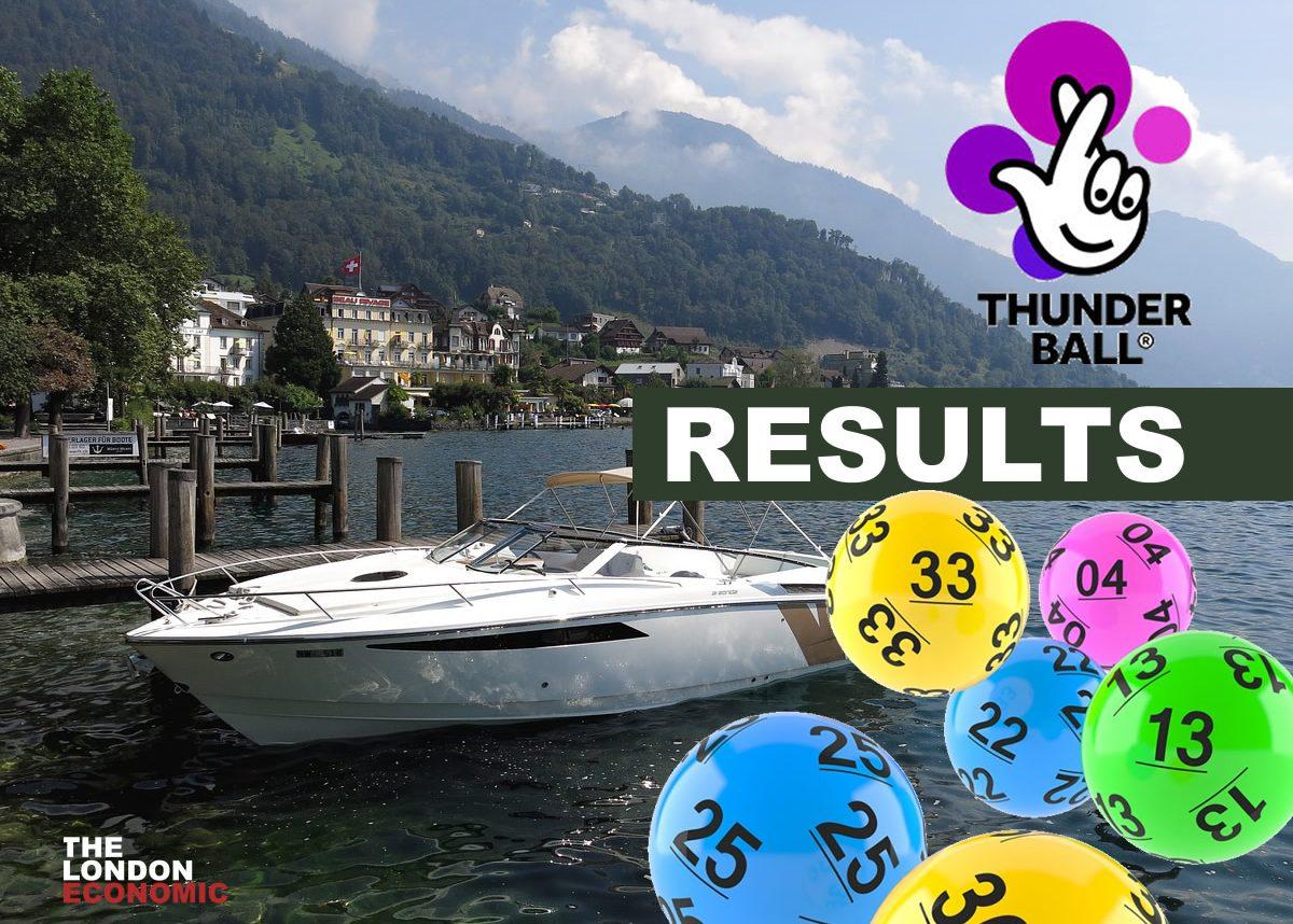 thunder ball results