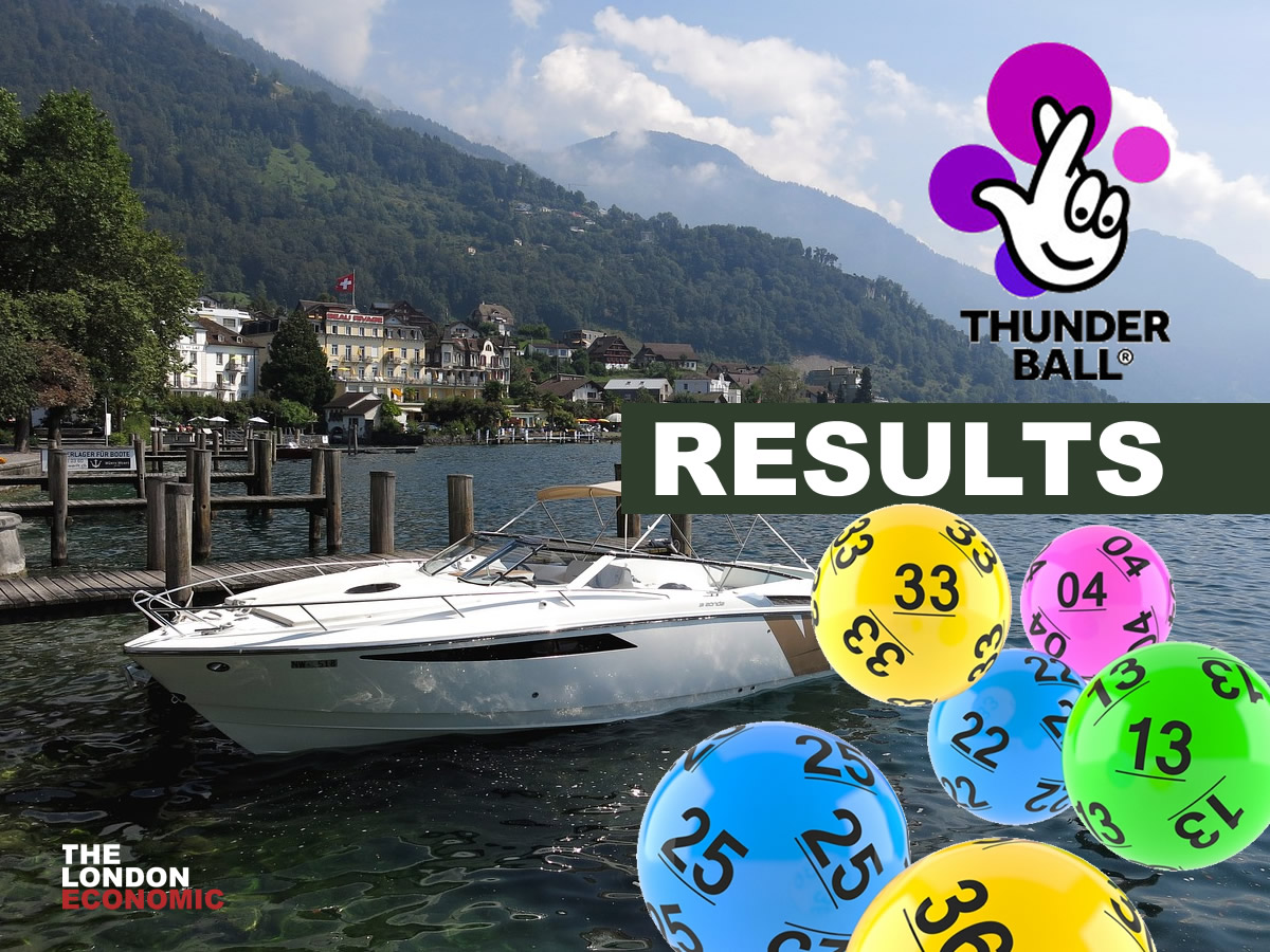 Thunder Ball Results Wednesday 30th December 2020 Draw Numbers Live