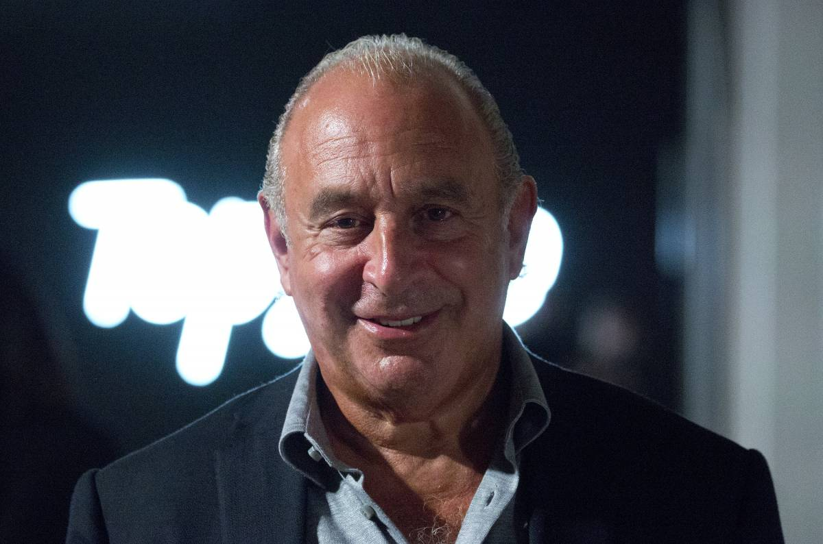 File photo dated 17/09/17 of Sir Philip Green, who has rejected suggestions that his Arcadia retail empire came close to collapse before a restructuring plan was clinched with regulators and landlords.