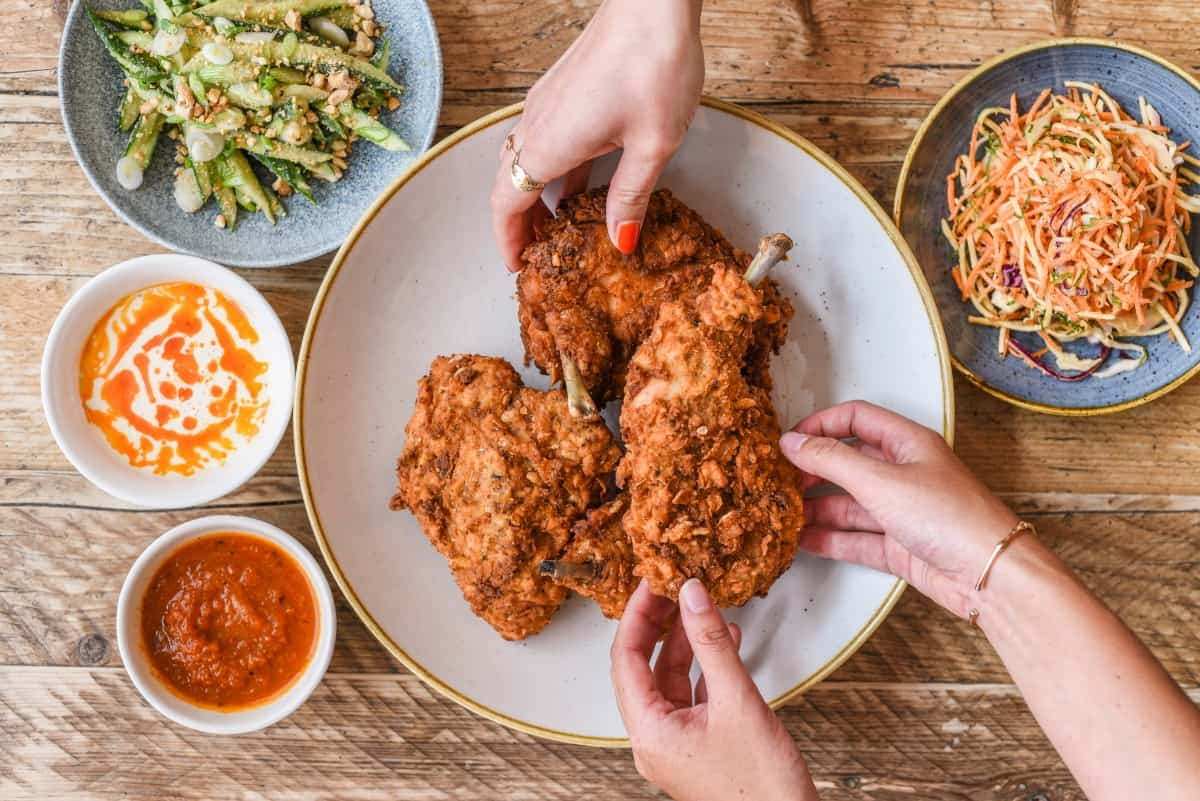 Whyte & Brown and Richard Falk challenge food waste with 'The Humble Chicken Supper Club'
