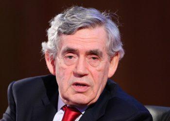 Former prime minister Gordon Brown (Jonathan Brady/PA)