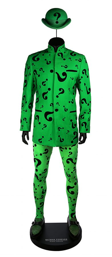 Jim Carrey's Riddler costume from Batman