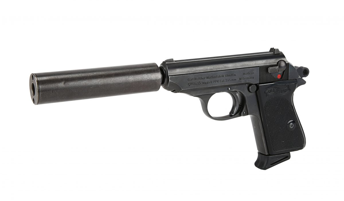 James Bond's Walther PPK pistol