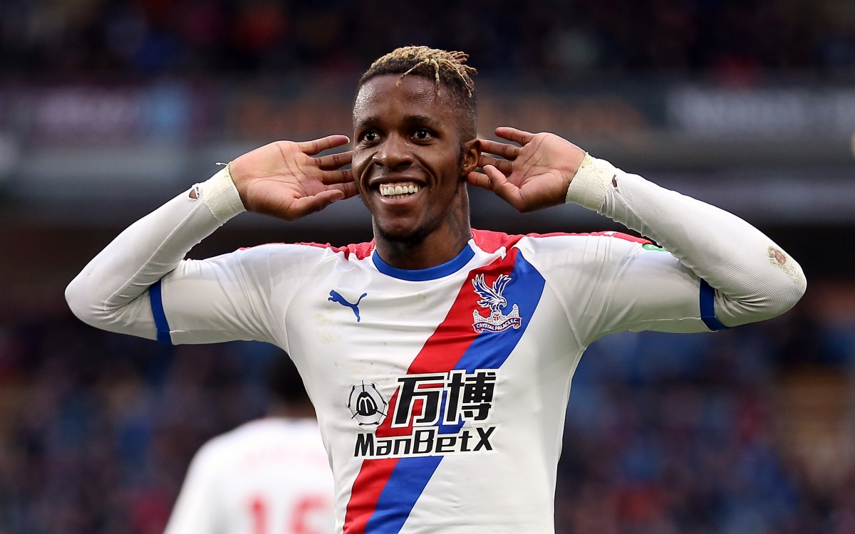 File photo dated 02-03-2019 of Crystal Palace's Wilfried Zaha