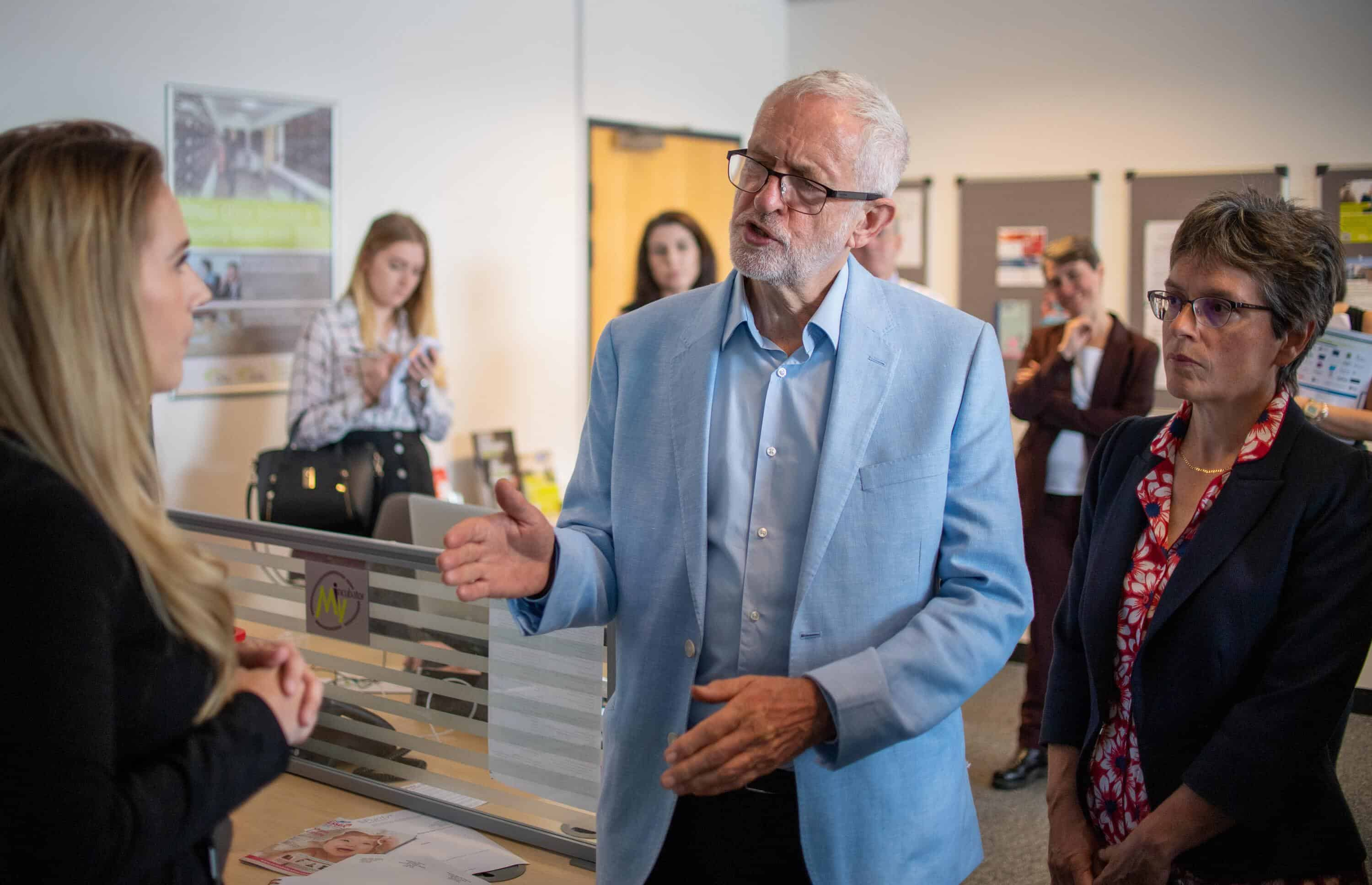 Labour leader Corbyn says will do everything possible to block no