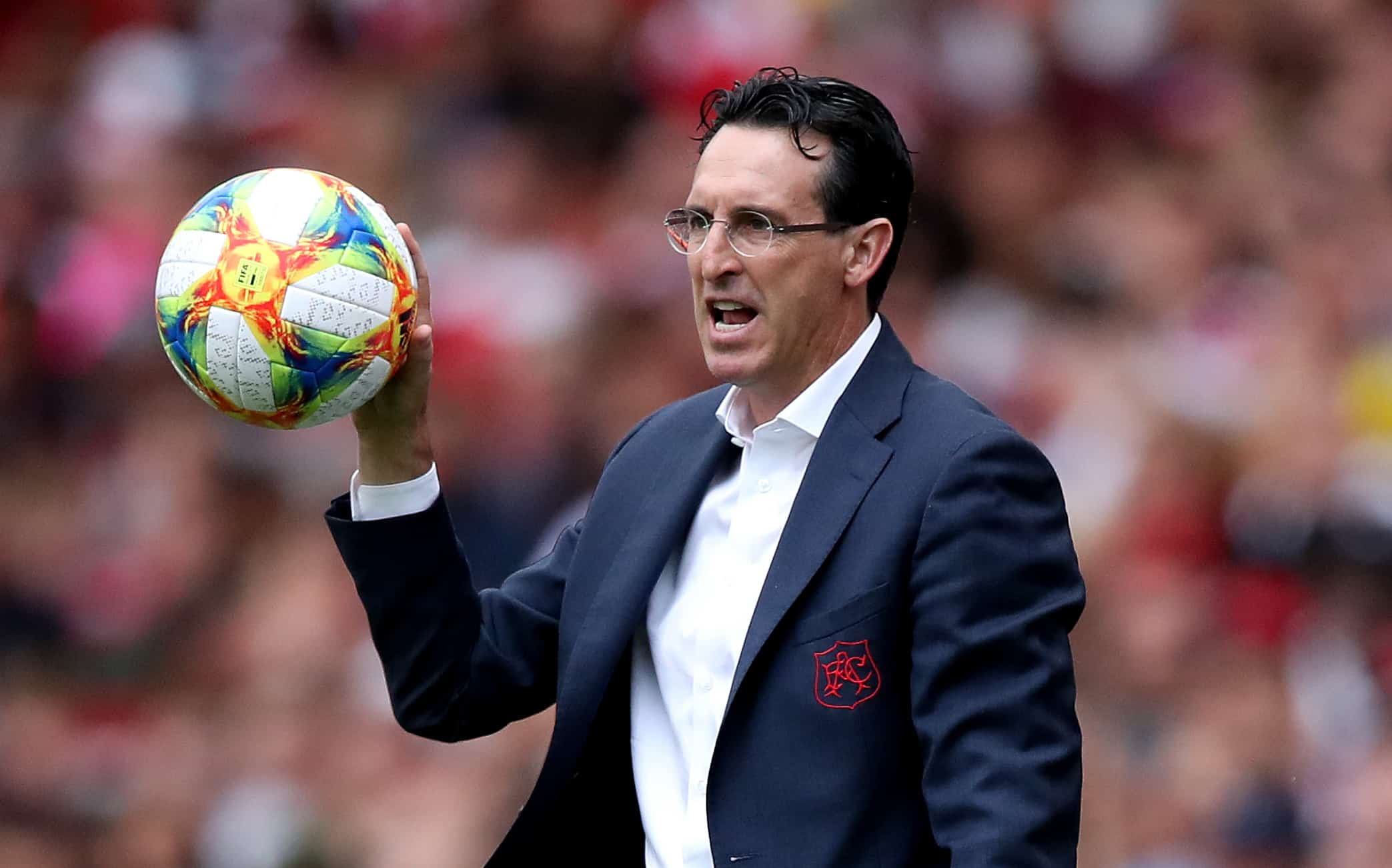 Unai Emery adamant Mesut Ozil's future remains with Arsenal