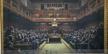 Banksy 's Devolved Parliament