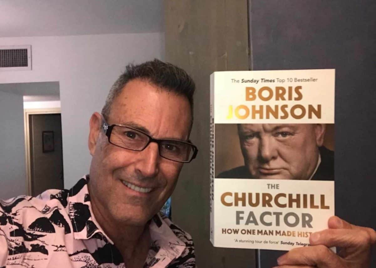 Uri Geller : Boris Johnson