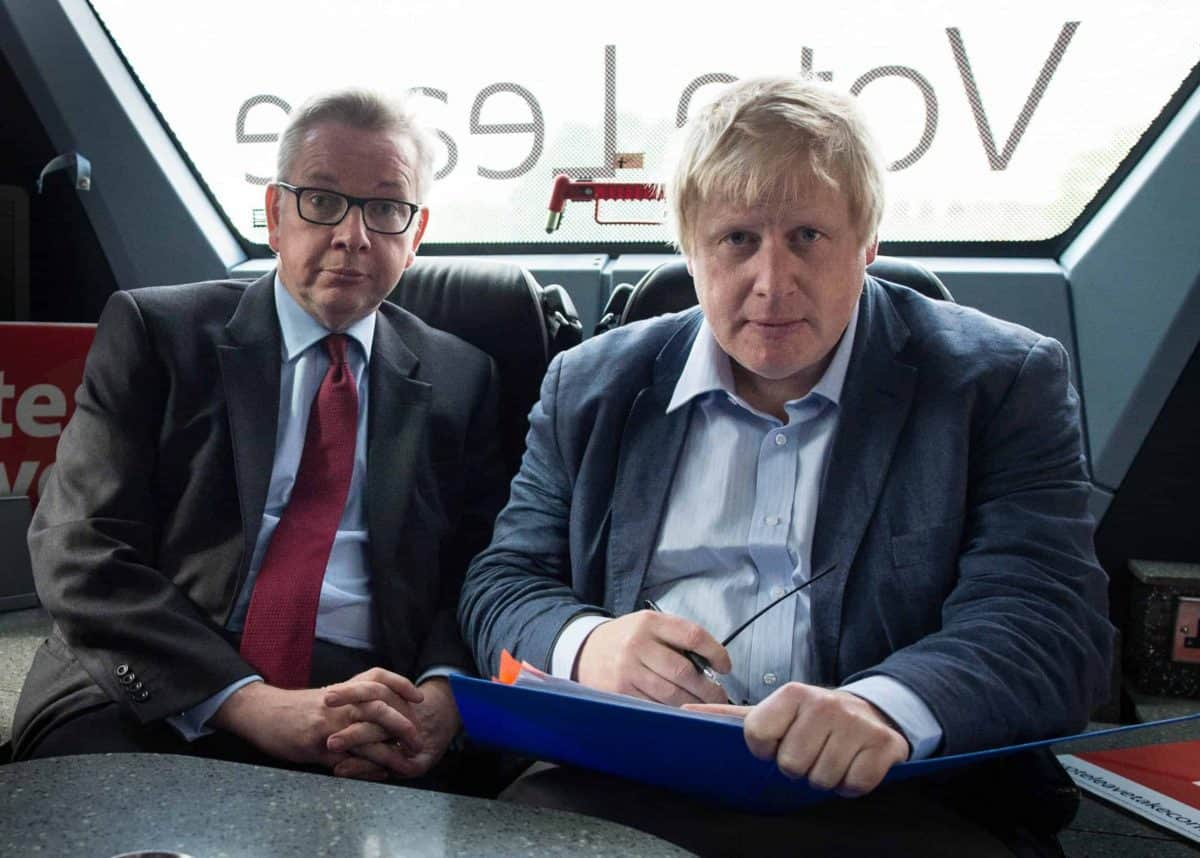 Gove and Johnson, Vote Leave (PA)