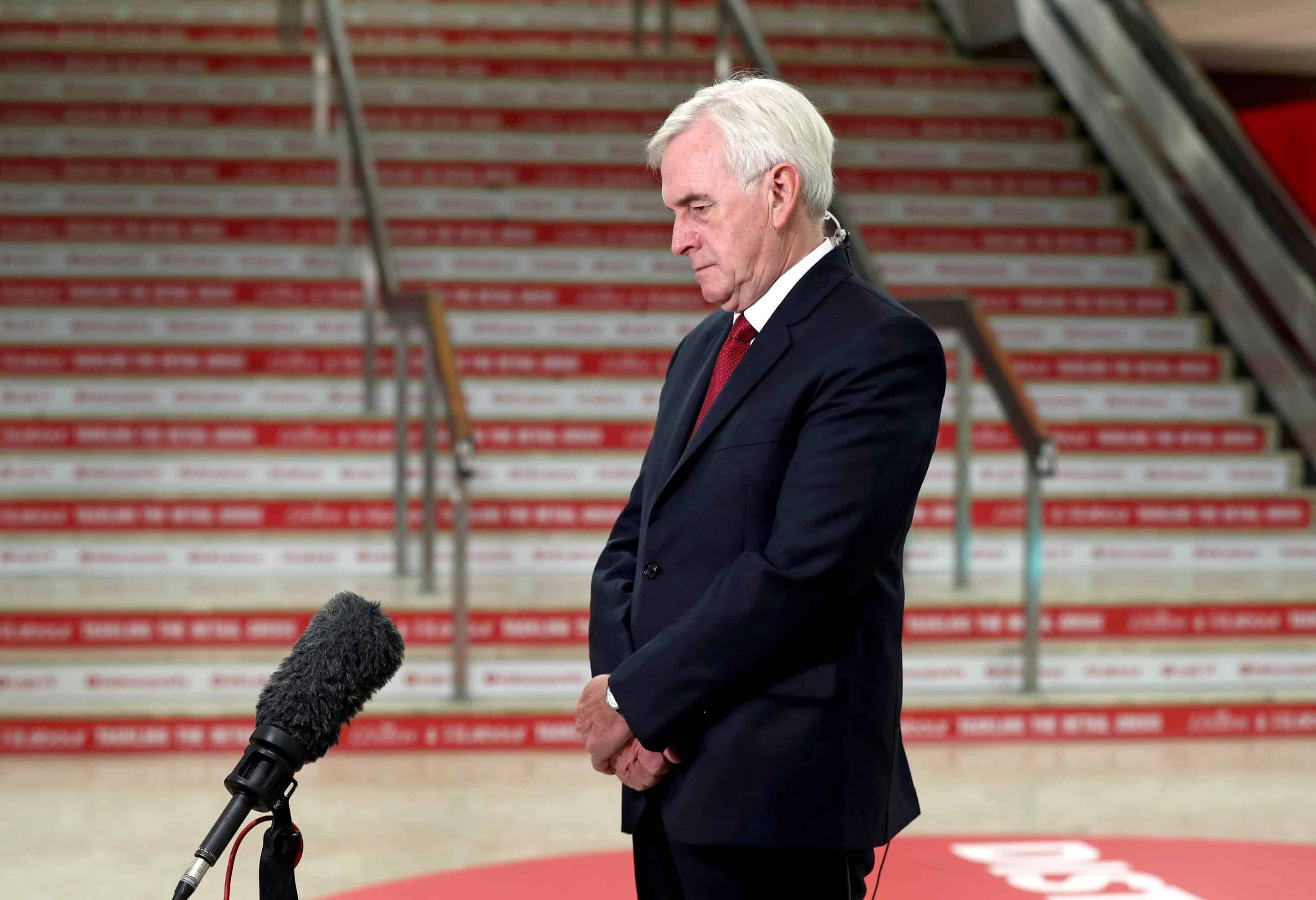McDonnell sets out Labour plan for 32-hour working week