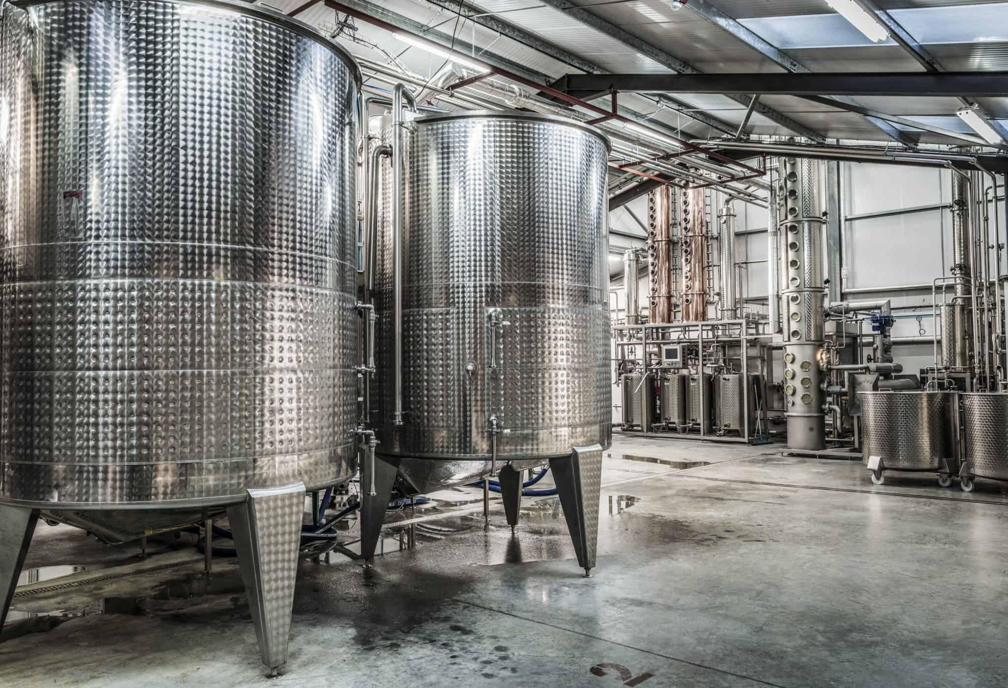 Ramsbury Distillery stills