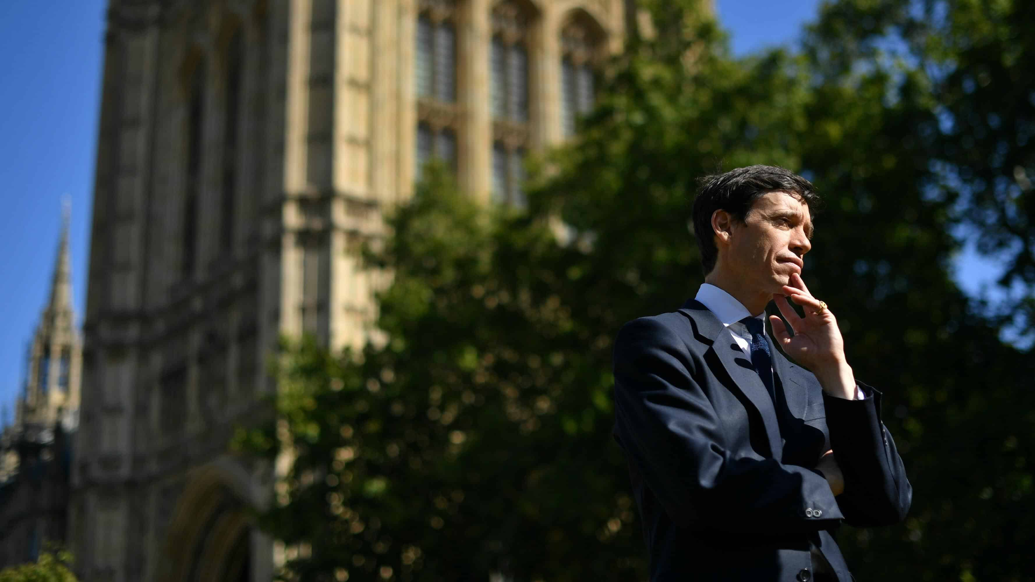 One-time United Kingdom prime ministerial hopeful, Rory Stewart, steps down