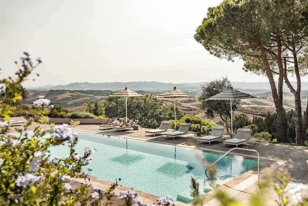The spa at Castelfalfi
