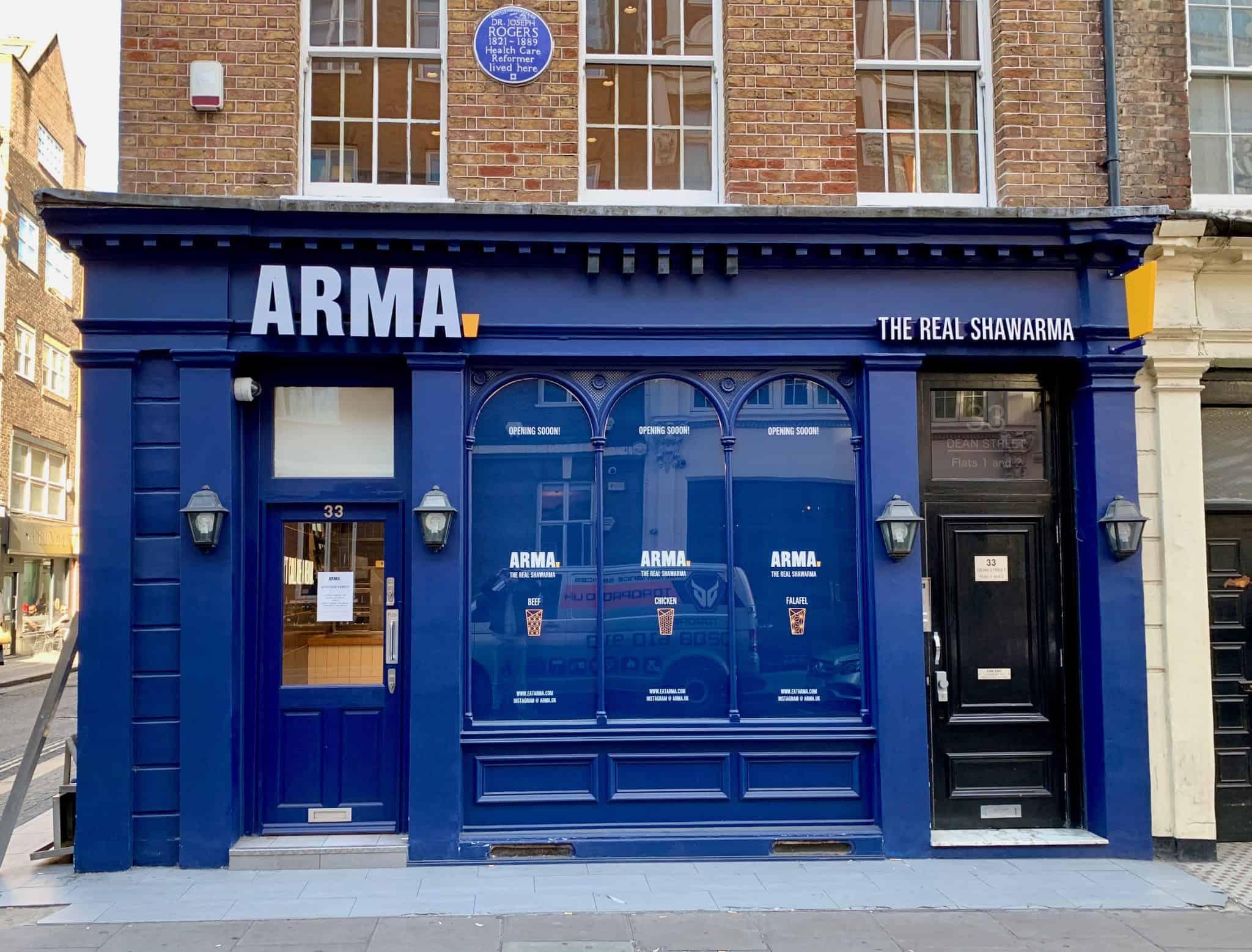 ARMA – Exterior new restaurant