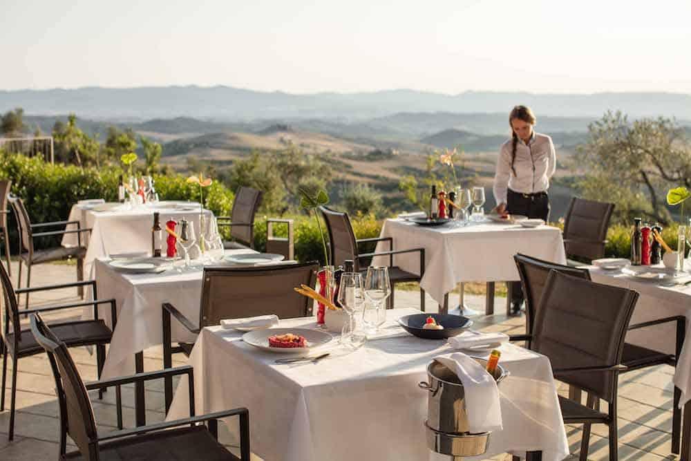 La Via del Sale - dining in Castelfalfi
