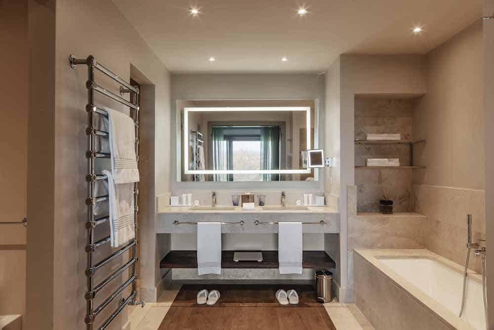 Bathroom at Castelfalfi