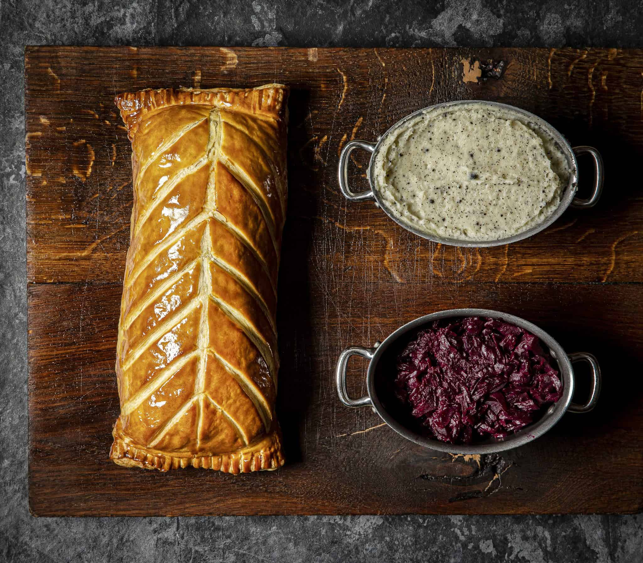 The Game Bird venison wellington