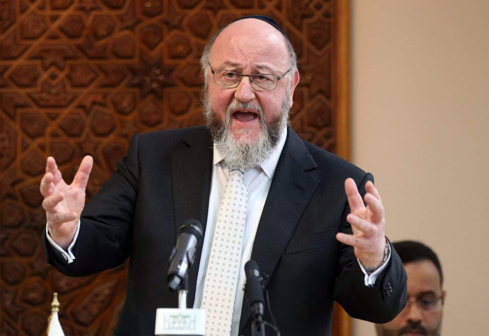 Chief Rabbi Ephraim Mirvis (PA)