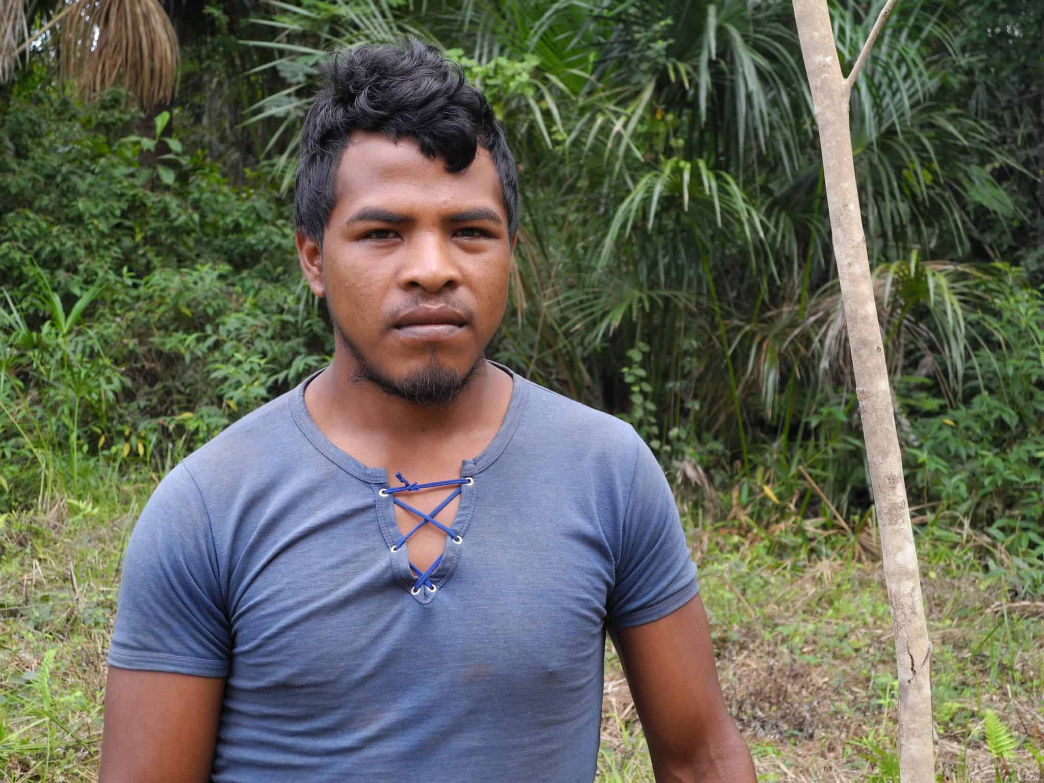 Paulo Paulino Guajajara, known as Kwahu, was shot dead following an ambush by loggers. He was a Guardian of the Amazon, a group of indigenous men from the Guajajara tribe who protect their territory from loggers.