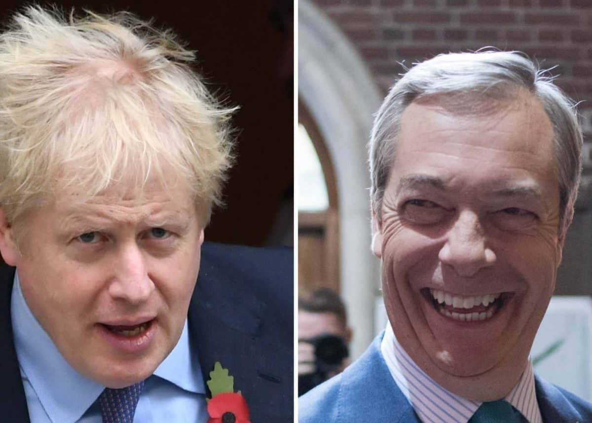 Boris Johnson / Nigel Farage