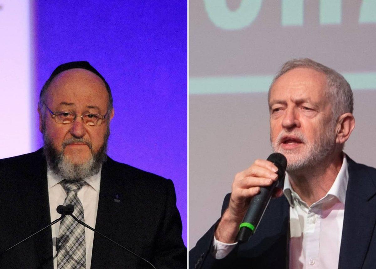 Mirvis / Corbyn (PA)
