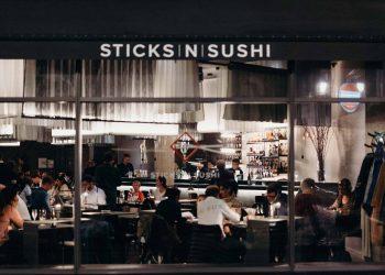 Sticks'n'Sushi Soho exterior | Photo: @toppedwith